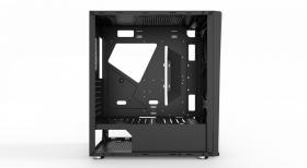 AIO Lumina Gamer Tempered Glass Black