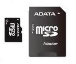 A-Data 4GB microSDHC Class 4 + adapterrel